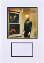 Gary Numan Autograph Signed - Tubeway Army